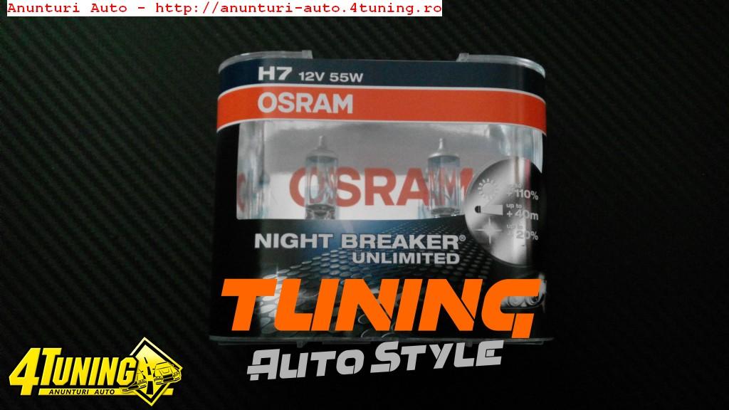 BECURI H7 OSRAM NIGHT BREAKER UNLIMITED - 89 LEI