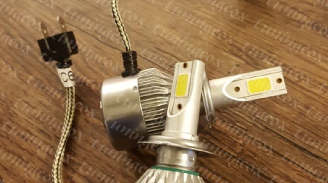 Becuri led h7 34w/3800lumeni set 2buc