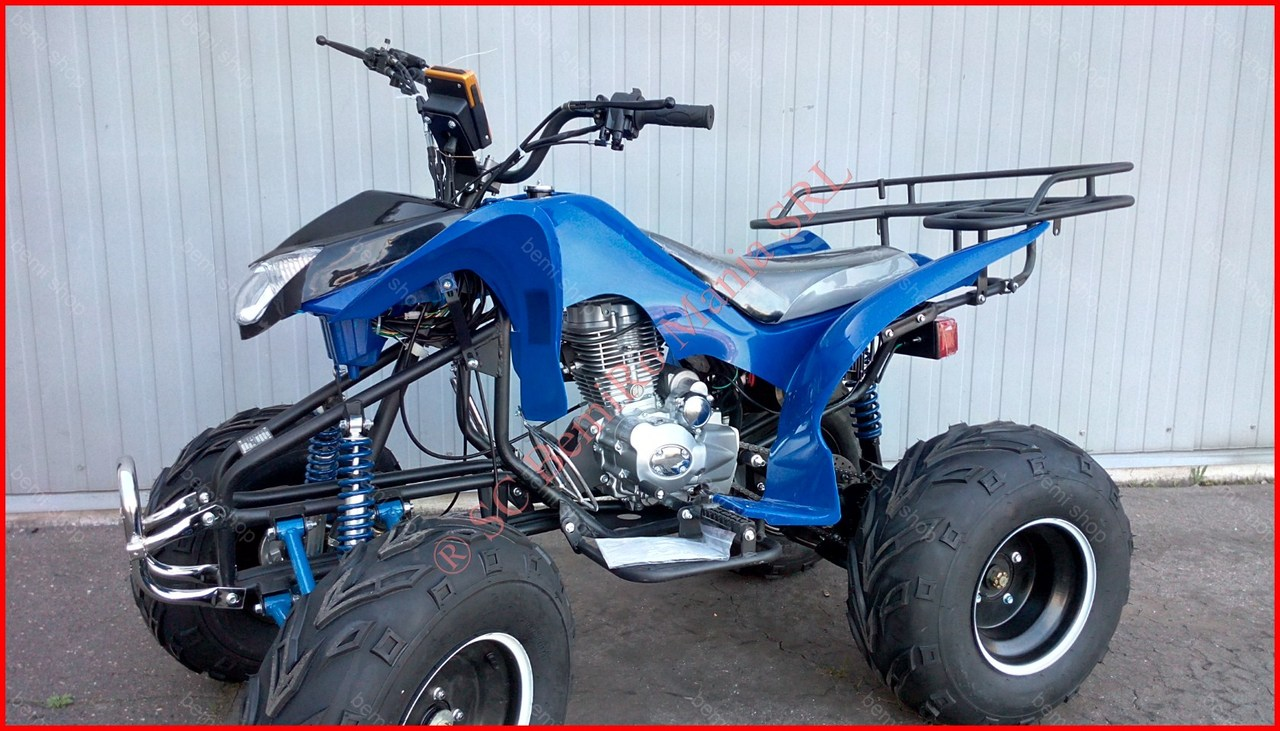 BEMI BS 200S 18A WOLF manual 4Trepte si Revers CE Off Road