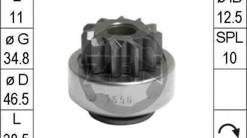 Bendix electromotoror OPEL ASTRA F 56 57 ERA 225656