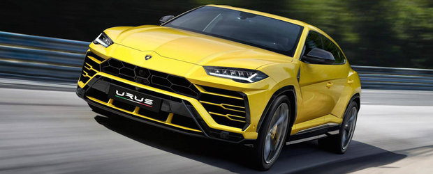 Bentayga a cazut oficial pe locul doi. Lamborghini a lansat cel mai tare si scump SUV al lumii