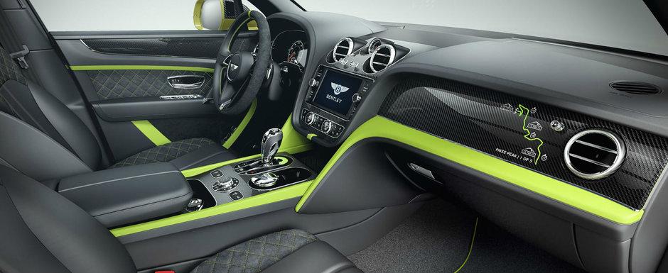 Bentayga este cel mai rapid SUV din istorie pe urcarea de la Pikes Peak. Bentley sarbatoreste cu o editie speciala