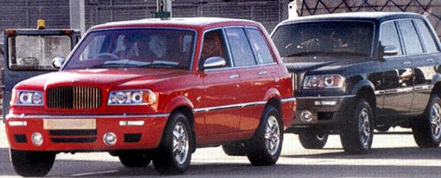 Bentayga nu este primul SUV realizat de Bentley, ci Dominator