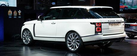 Bentayga pierde in curand coroana de pe...plafon. Asta zic toti care vad LIVE noul Range Rover Coupe