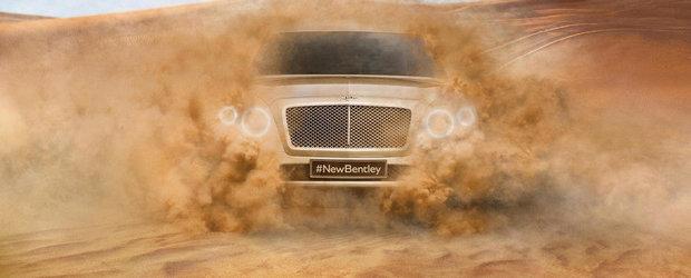 Bentley anunta primul SUV din istoria sa de 95 de ani