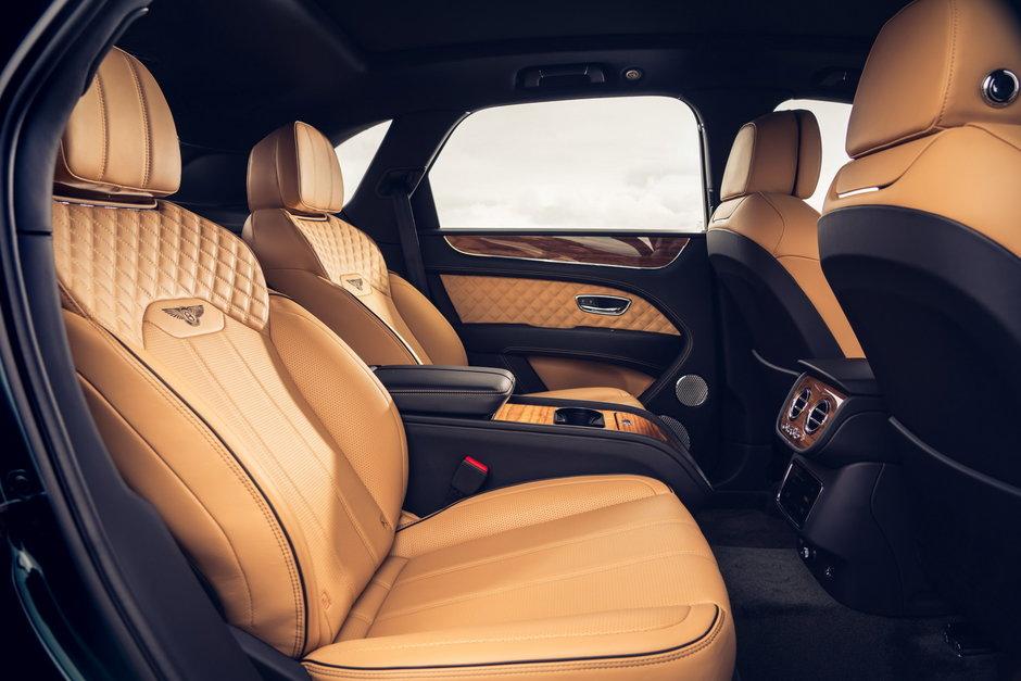 Bentley Bentayga in patru locuri