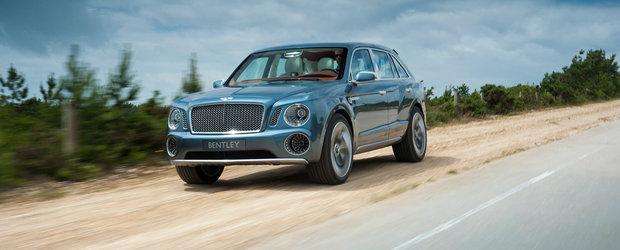 Bentley Bentayga, numele oficial al SUV-ului britanic de lux