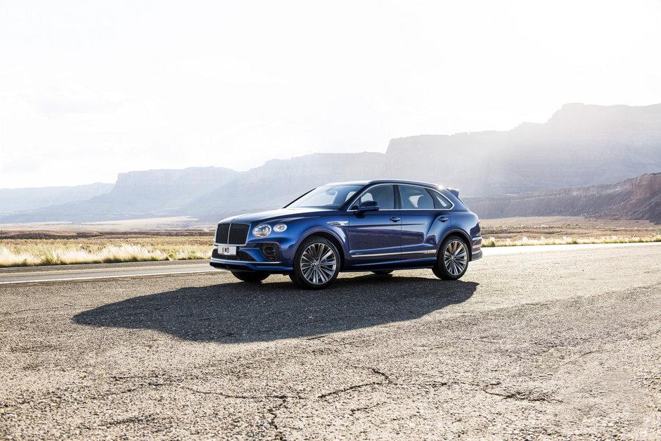 Bentley Bentayga Speed Facelift