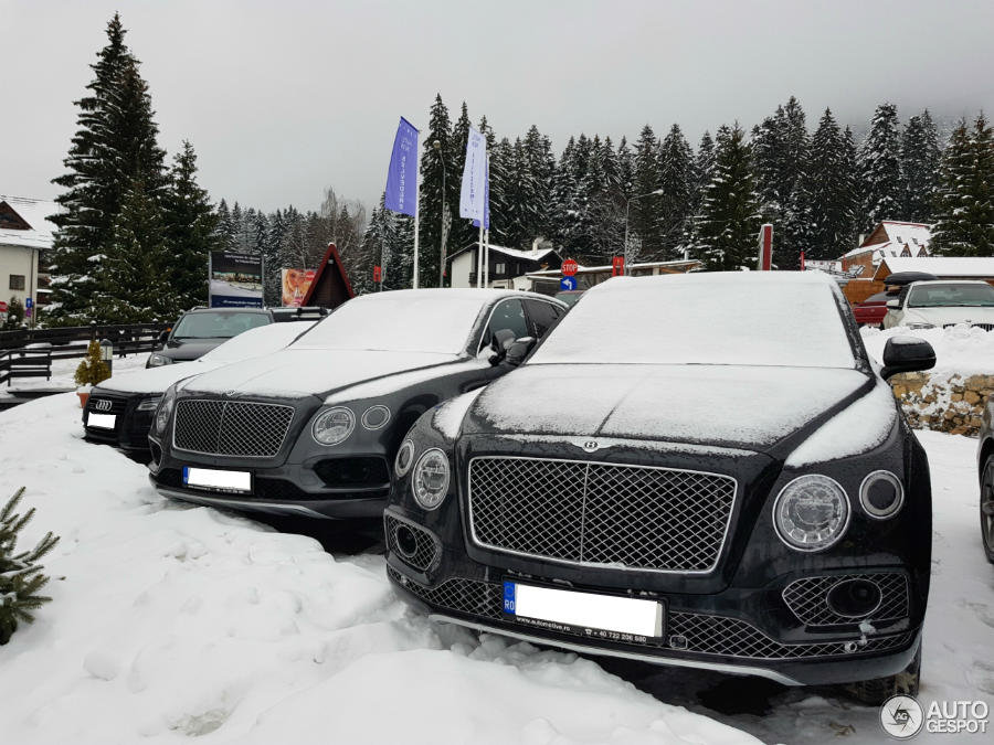 Bentley Bentyaga din Romania