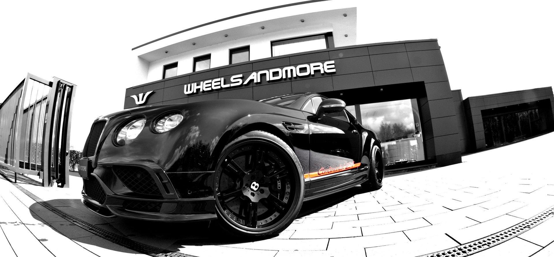 Bentley Continental 24 by Wheelsandmore - Bentley Continental 24 by Wheelsandmore