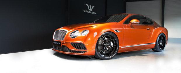 Bentley Continental a trecut de pragul celor 700 de cai. Ce a mai primit sportiva britanica