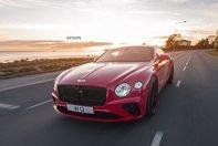 Bentley Continental GT cu jante Strasse