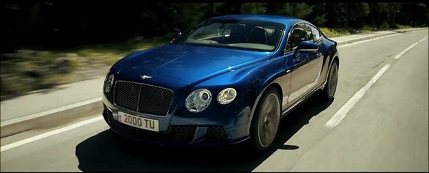Bentley Continental GT Speed isi face aparitia intr-un nou promo oficial