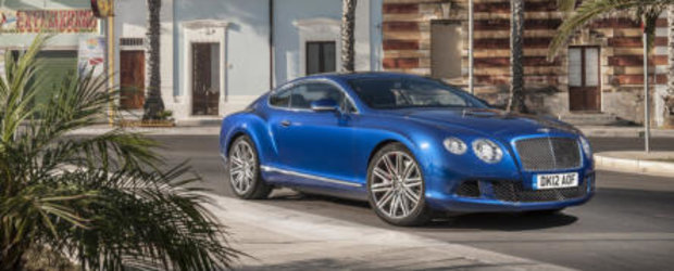 Bentley Continental GT Speed - Lux si performante la superlativ