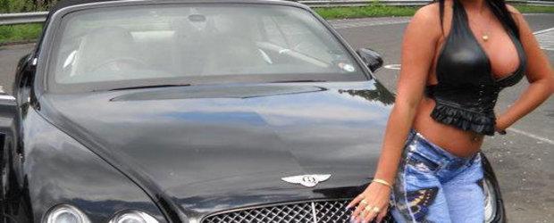 Bentley Continental GTC cu silicoane si aroma de RRomania