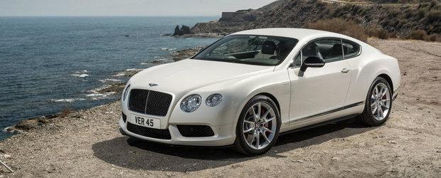 Bentley Continental V8 S: Mai multa putere, mai mult cuplu, mai multa performanta