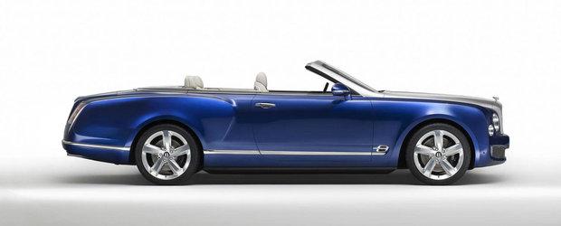 Bentley da prafu' jos de pe Mulsanne Convertible. S-ar putea produce in foarte putine exemplare.