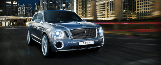 Bentley EXP 9 F Concept anticipeaza noul SUV al britanicilor