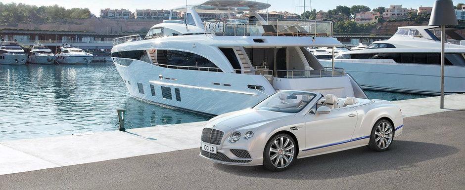 Bentley impinge din nou limitele opulentei. Continental GT Galene Edition este o oda adusa iahturilor de lux