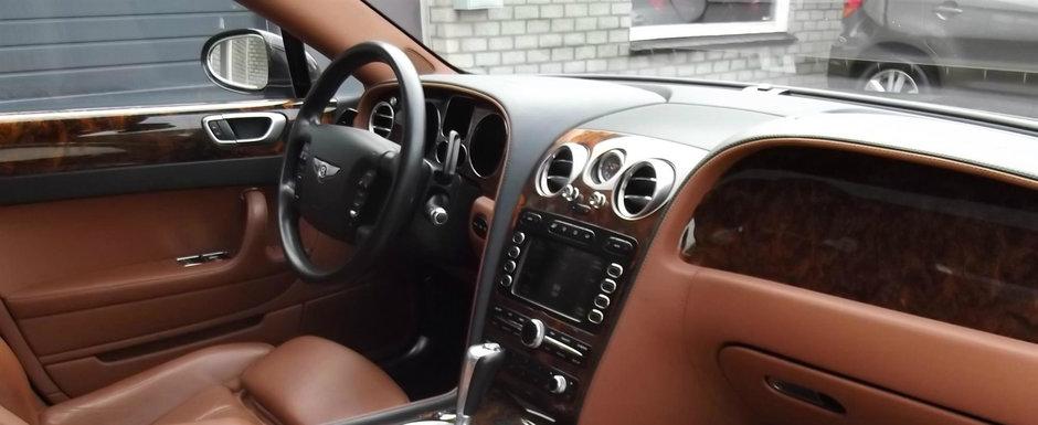 Bentley la pret de Golf TDI. Uite cum arata si cat costa acest Flying Spur cu motor W12 twin-turbo