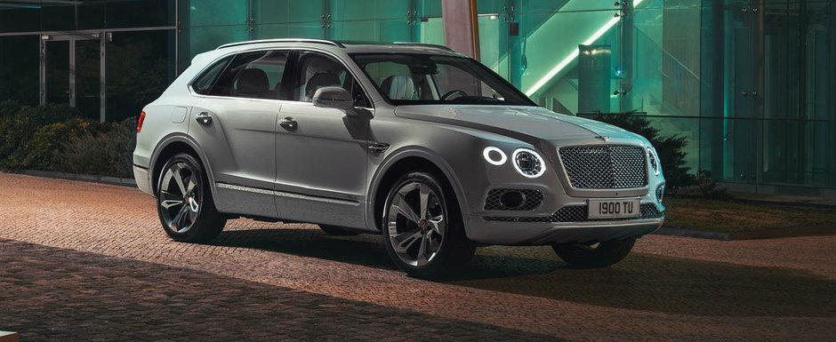 Bentley mai bifeaza o premiera absoluta. SUV-ul Bentayga primeste o versiune HIBRID cu 450 de cai putere