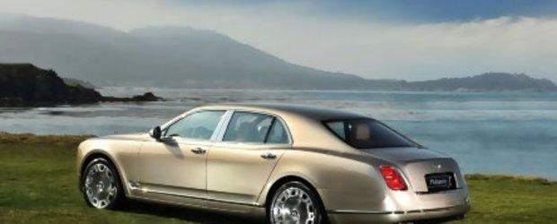 Bentley Mulsanne - Acesta este noul Grand Bentley