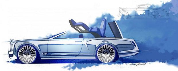 Bentley Mulsanne Convertible - Primele imagini oficiale