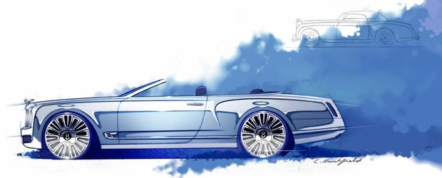 Bentley Mulsanne Convertible se lanseaza in 2014 sau 2015
