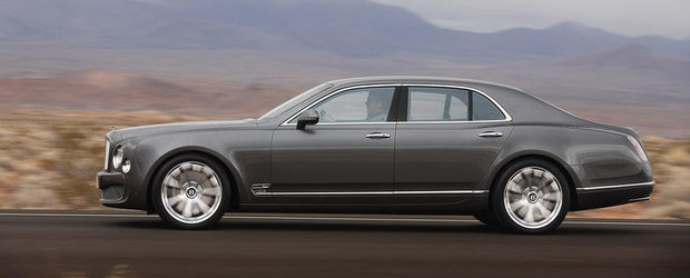 Bentley Mulsanne Mulliner Driving Specification - Distractia se muta la volan