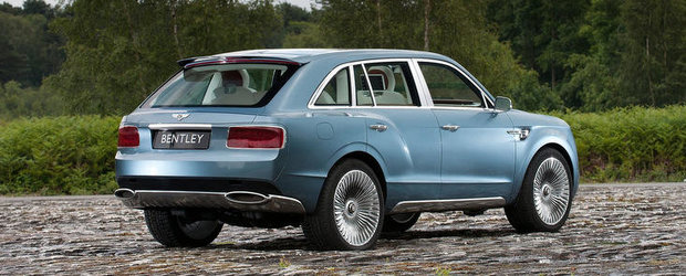 Bentley pregateste un motor diesel pentru versiunea de serie a lui EXP 9F