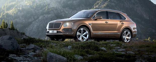 Bentley prezinta noul Bentayga. Cum arata primul SUV din istoria britanicilor