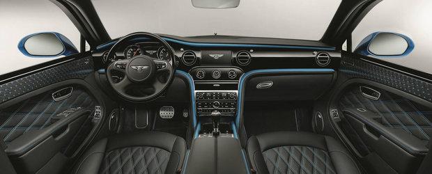 Bentley rescrie regulile unei limuzine de lux. Mulsanne Design Series va debuta la Frankfurt