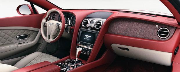 Bentley socheaza din nou. Compania britanica anunta insertiile... de piatra
