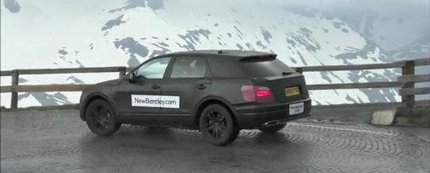 Bentley testeaza la mare inaltime primul sau SUV