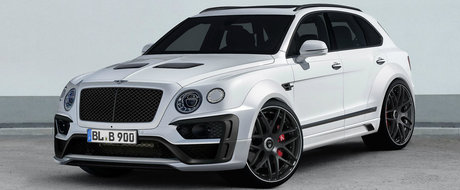 Bentley-ul Bentayga isi arata coltii cu ajutorul Lumma Design
