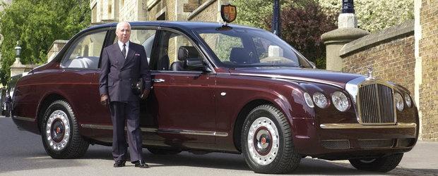 Bentley-ul Reginei Elisabeta a II-a expus publicului larg