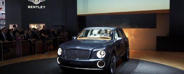 Bentley viseaza sa vanda 3.000 de SUV-uri pe an