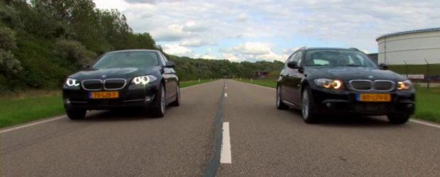 Benzina versus motorina: BMW 535i versus BMW 335d