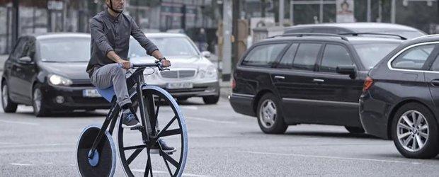 Bicicleta electrica Concept 1865 te va da pe spate