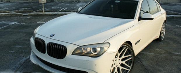 Big is better? 24 inci pe BMW 750LI!
