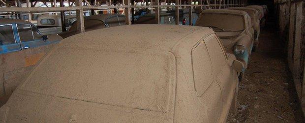 Bijuteriile din hambar: 200 de masini clasice rare zac prafuite in Noua Zeelanda