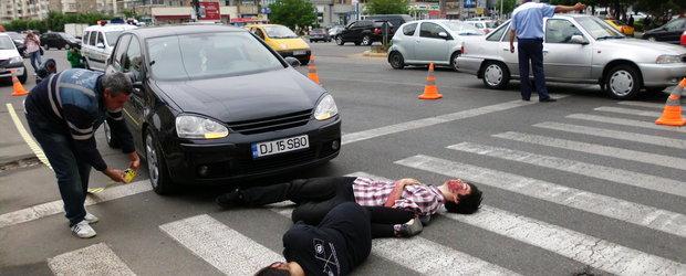 Bilantul accidentelor rutiere din Bucuresti