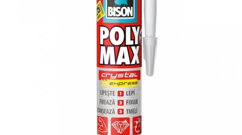 Bison Silicon Poly Max Cristal Express Transparent 300G 428977