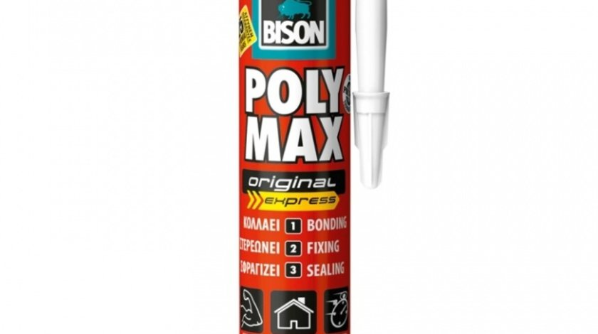 Bison Silicon Poly Max Express Alb 425G 428976