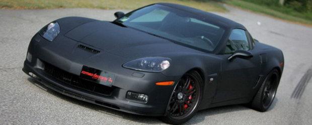 Black Devil: Chevrolet Corvette Z06 by Romeo Ferraris