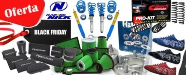 Black Friday cu tuning la reducere, in magazinul Racing Nick