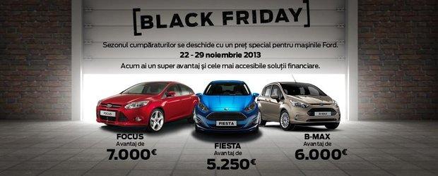 Black Friday in reprezentantele Ford: avantaj de 7000 de Euro la cumpararea unui Focus