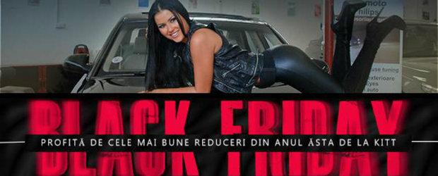 Black Friday la KITT Romania: produse cu discount de 70%
