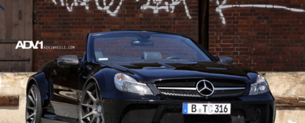 Black Series Cabrio: Mercedes SL65 AMG by TC-Concepts