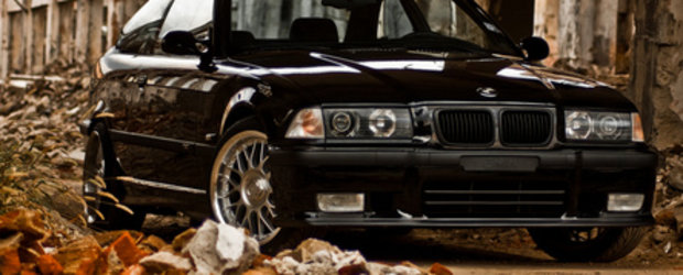 Blackjack: BMW E36 Coupe by Costin